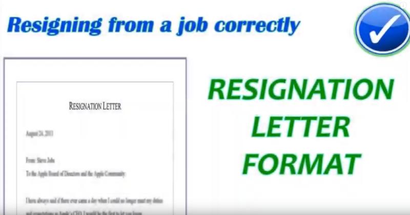 17 Contoh Surat Pengunduran Diri Kerja Jabatan Organisasi