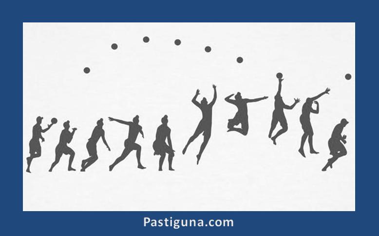 teknik servis atas bola voli
