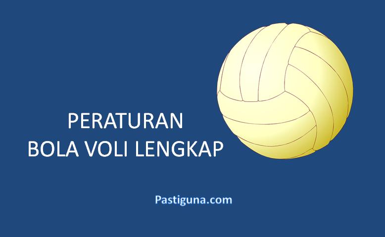 peraturan permainan bola voli lengkap