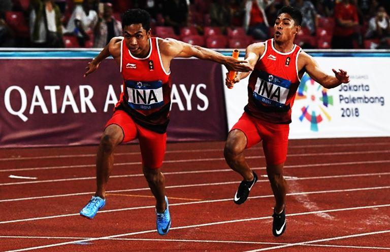 Aturan Lari Estafet 4 x 400 Meter