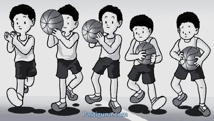 cara menangkap bola basket