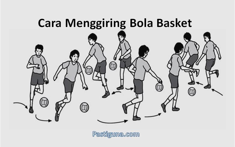 cara menggiring bola basket