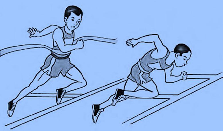 jelaskan teknik lari jarak menengah