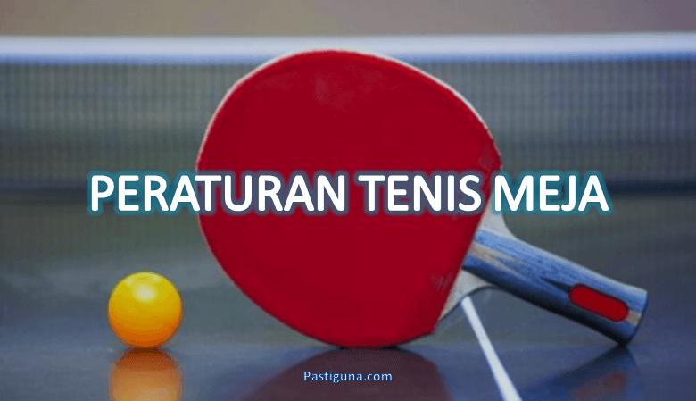 peraturan permainan tenis meja
