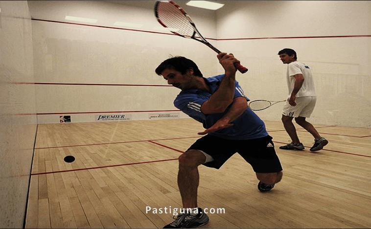 permainan bola kecil squash