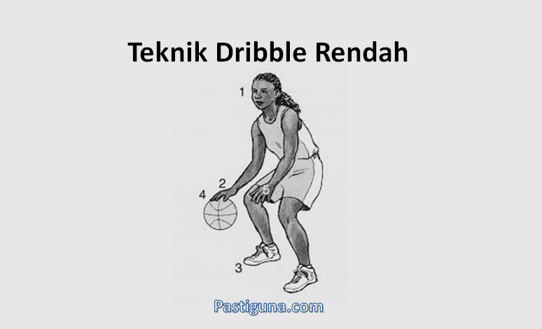 teknik drible rendah bola basket