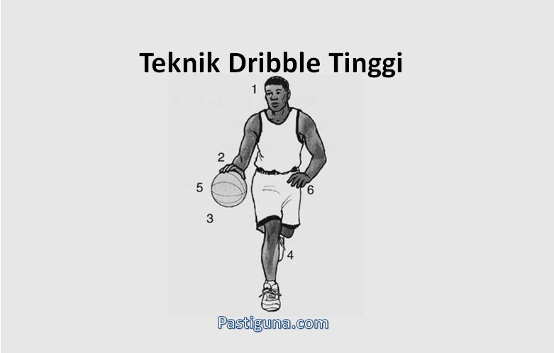 teknik drible tinggi bola basket