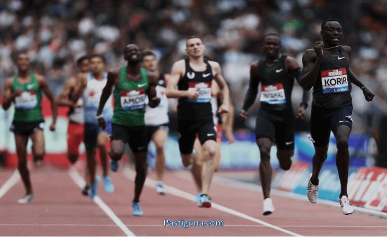 teknik lari jarak menengah