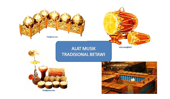 Daftar Nama Alat Musik Tradisional Betawi Beserta Gambar Keterangan