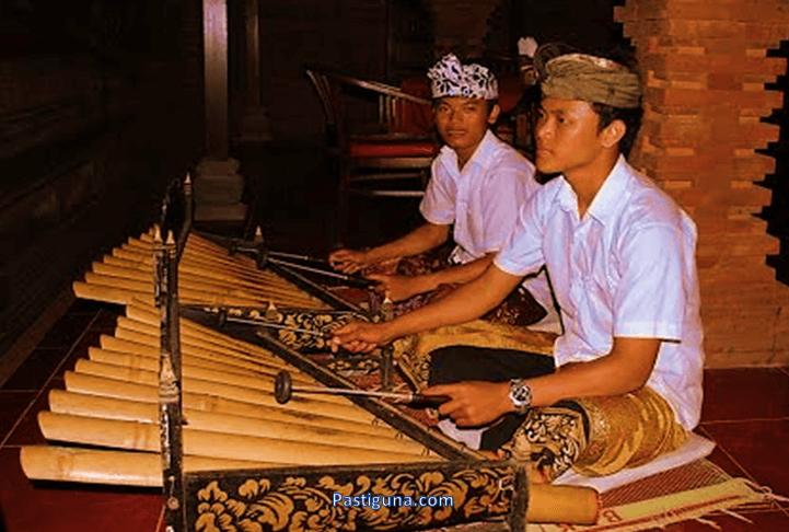 alat musik rindik bali