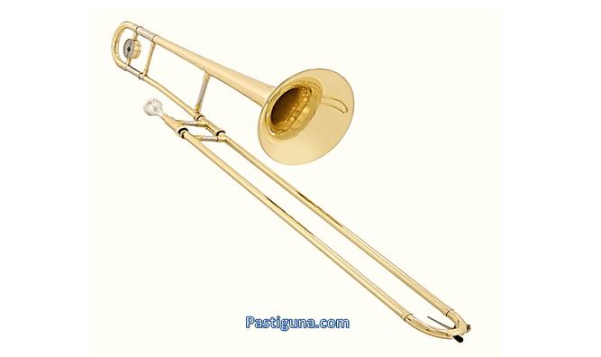alat musik tiup trombon