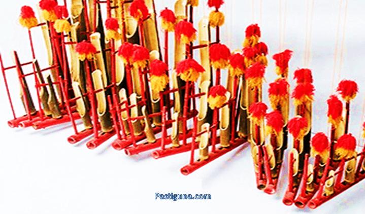 alat musik tradisional angklung reog jawa timur