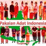 pakaian adat indonesia