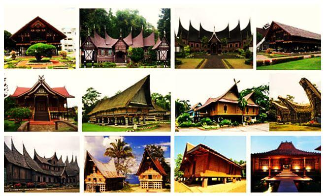 Nama Nama Rumah Adat Di Indonesia Lengkap Gambar Dan Penjelasan