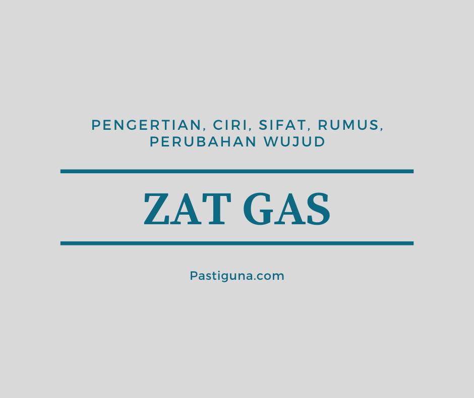 Zat gas