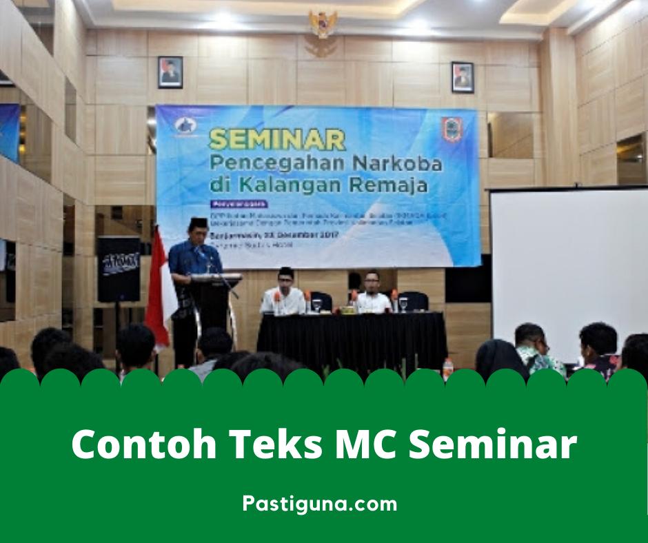 contoh teks mc seminar