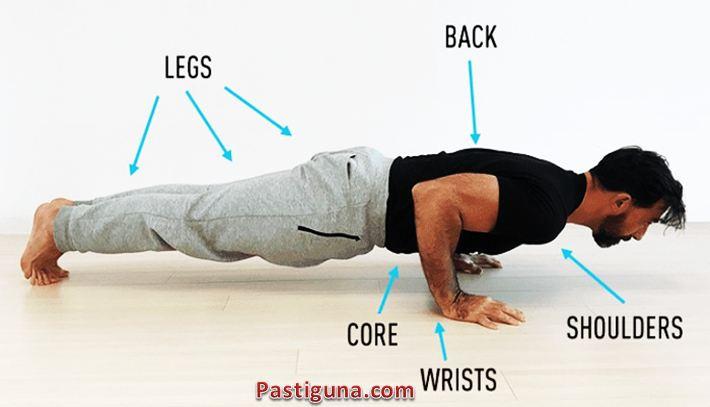 teknik push up