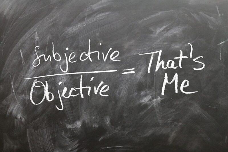 Pengertian Objektif dan Subjektif