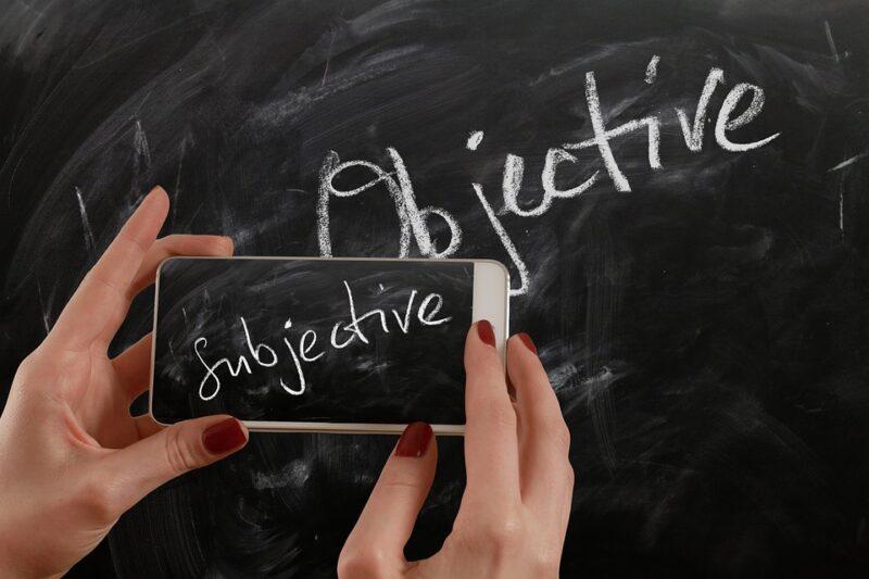objektif dan subjektif